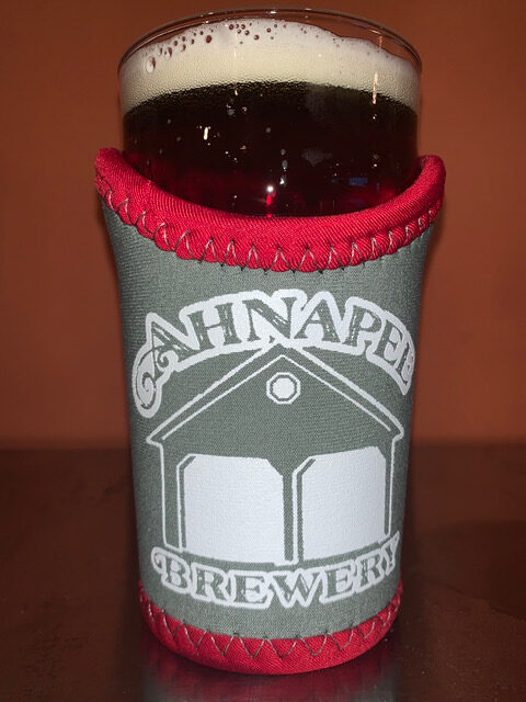 Pint Coozie with pint