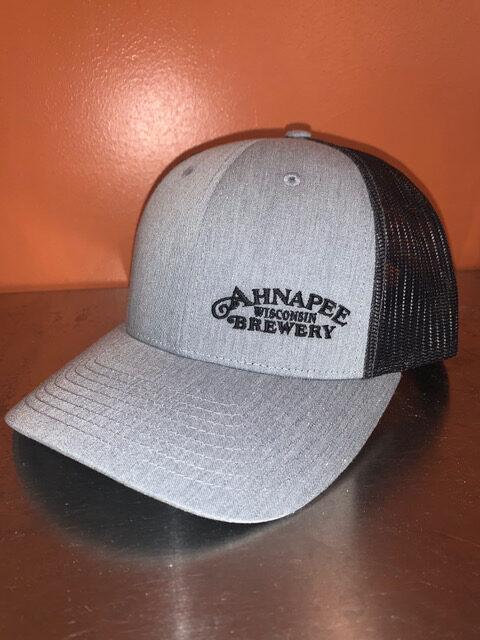 Trucker hat grey black