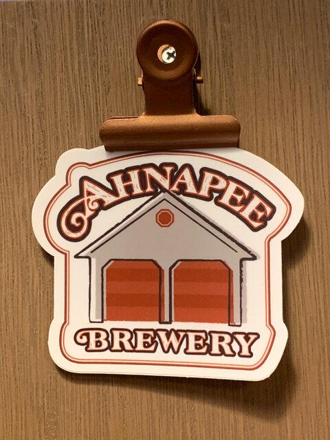 Ahnapee brewery sticker