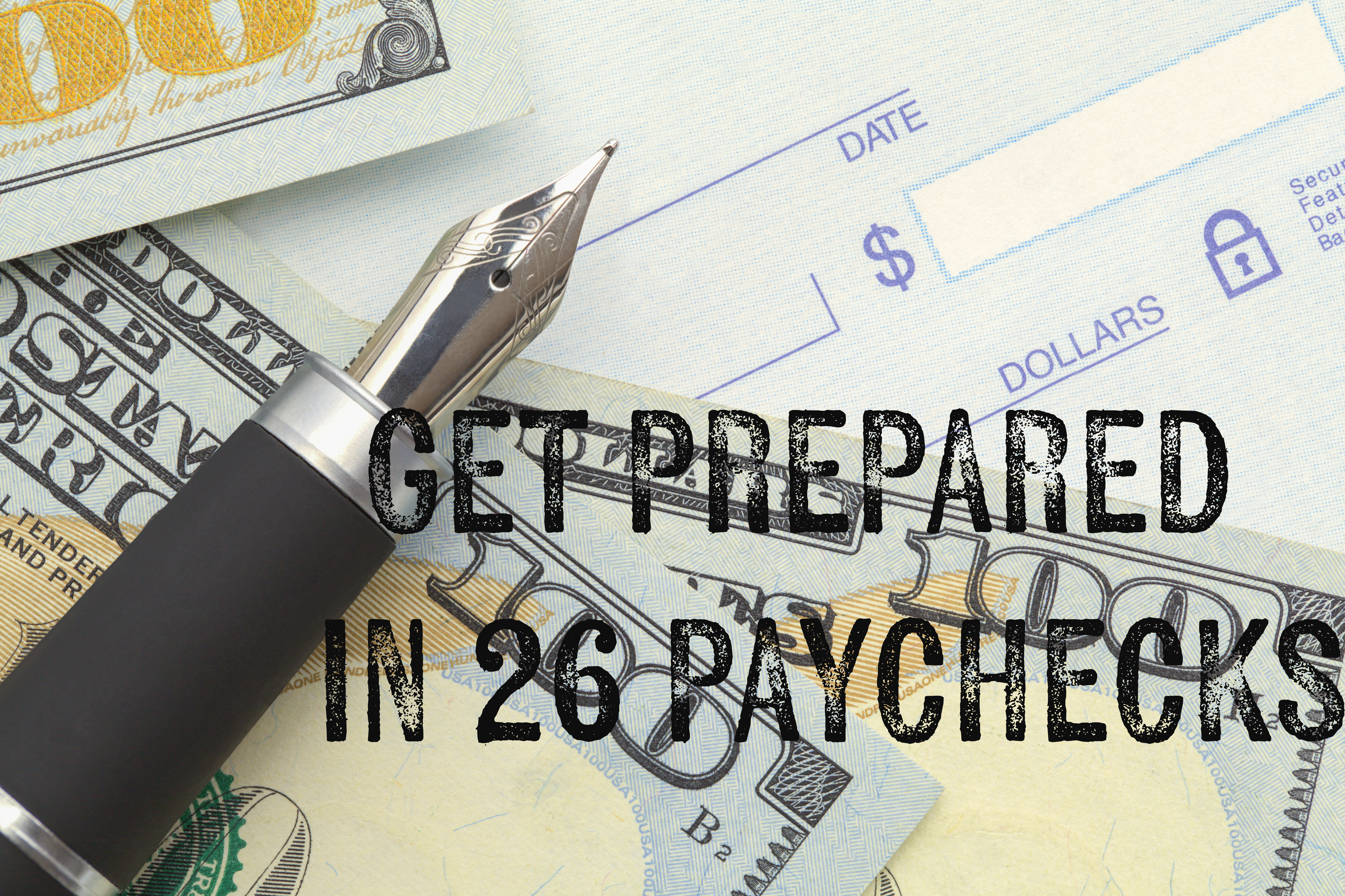 Paycheck prepping