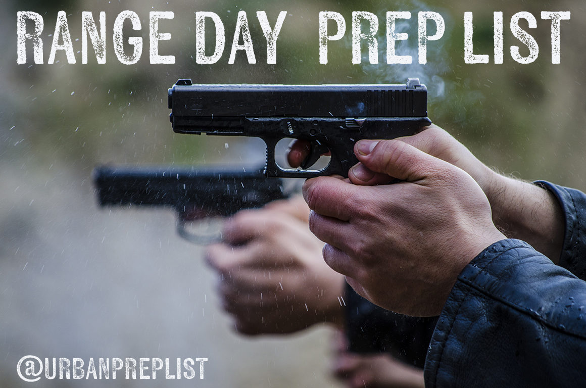range day prep list