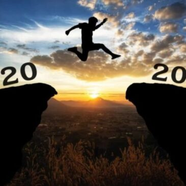 I'm easing, not leaping into the New Year….