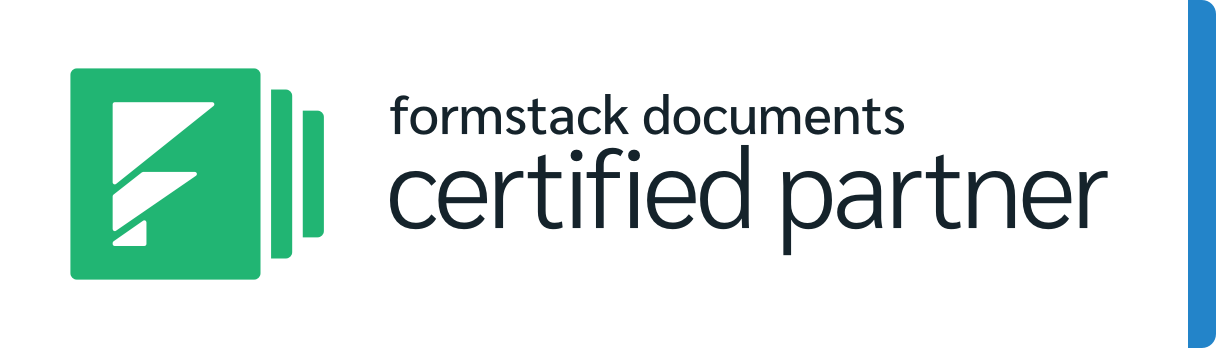 Formstack Documents Certified Partner
