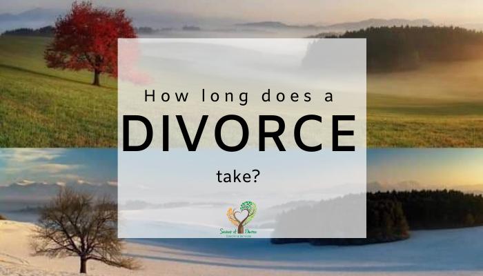 How long does divorce take with Seasons of Divorce, Shari Frasure, Divorce Coach