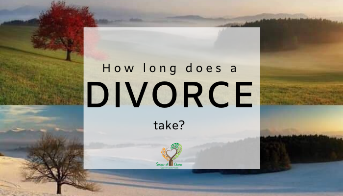 How long does divorce take with Seasons of Divorce, Shari Frasure, Divorce Coach