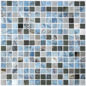 Shades of gray blend tile by Mosaic Tile Supplies