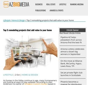 az big media top 5 remodeling projects