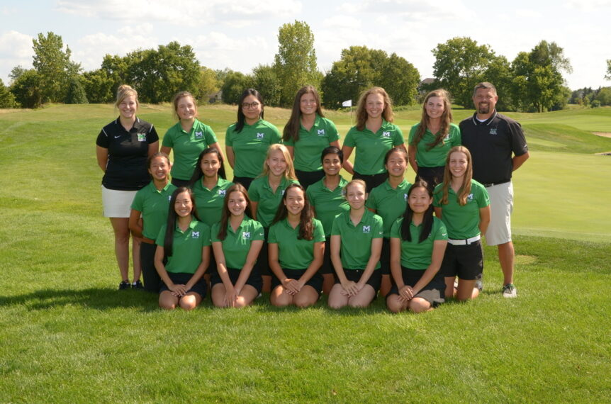 Roster of the Mason Girls Golf Team for the 2019-2020 School Year