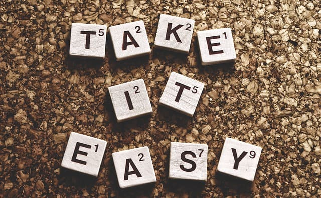 Take It Easy. How to make your move easier.
