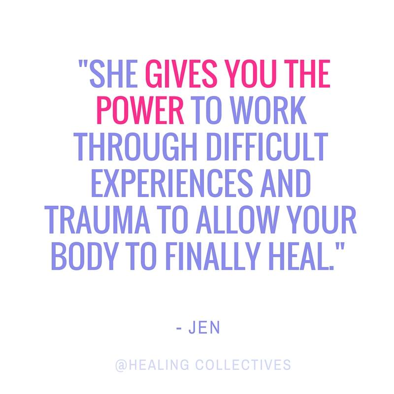 testimonial for the Healing Collectives