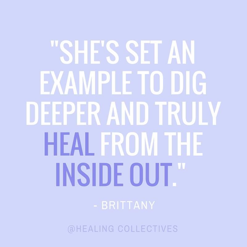 Healing Collectives testimonial