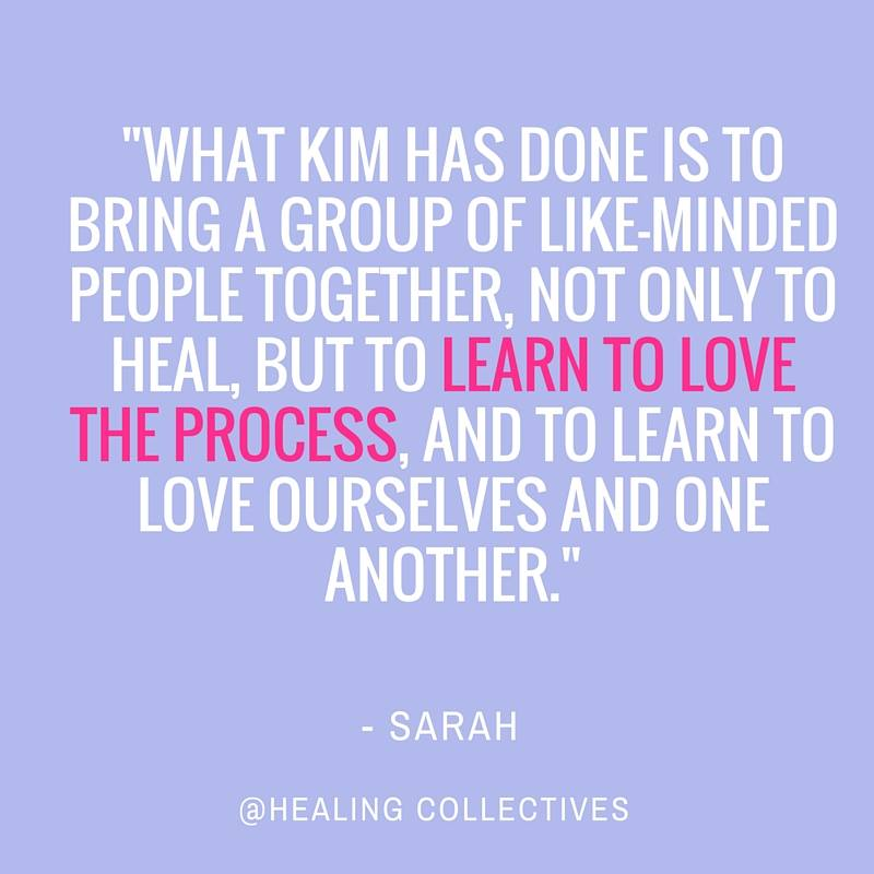 testimonial for Healing Collectives