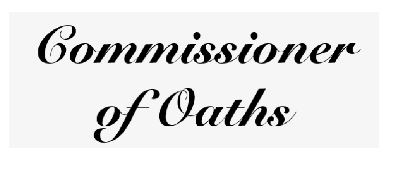 Commissioner of oath