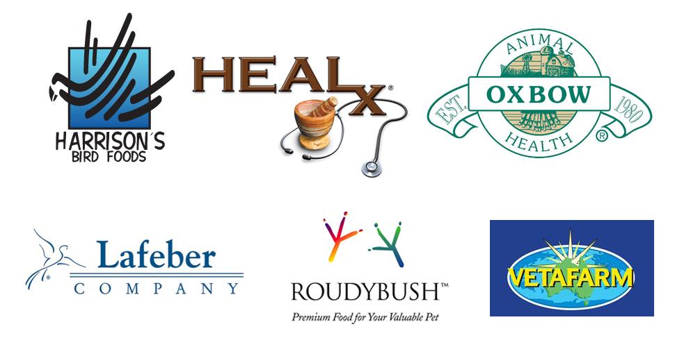harrison's bird foods, HBD, bird food, heal-x, oxbow, lafeber, nutriberries, roudybush, vetafarm