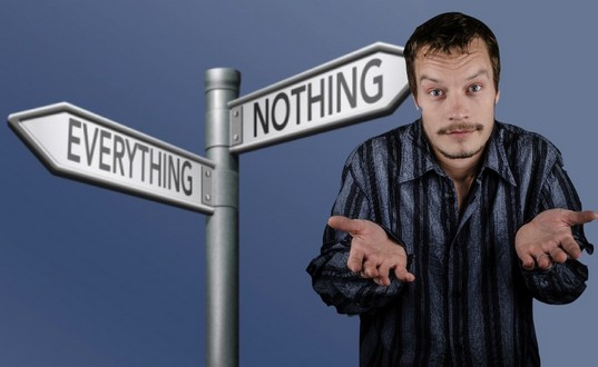 All or Nothing??? by Dr. Ina Nozek