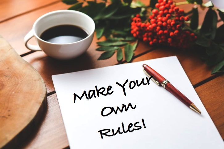 Make Your Own Rules to Lose Weight