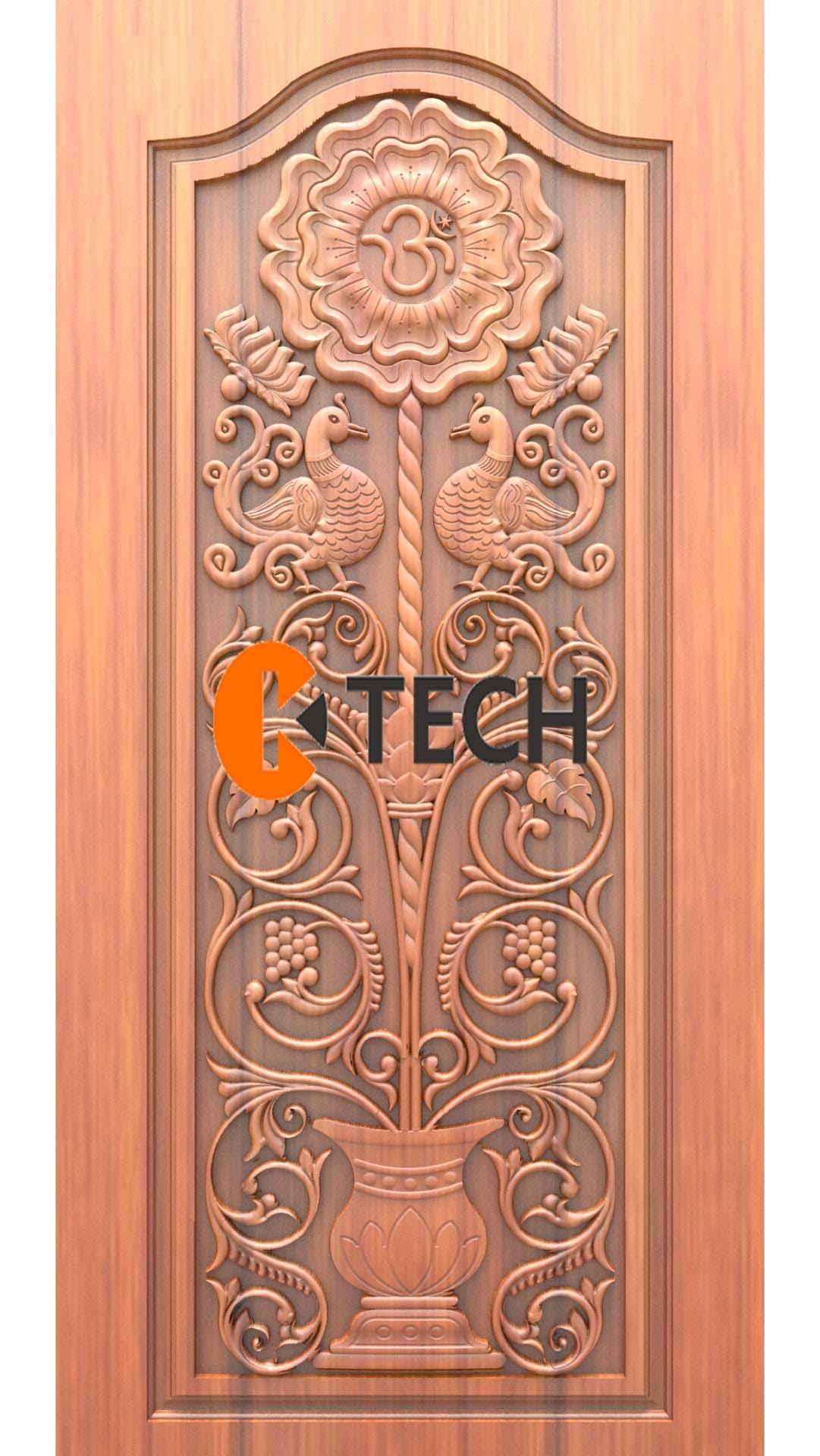 K-TECH CNC Doors Design 15