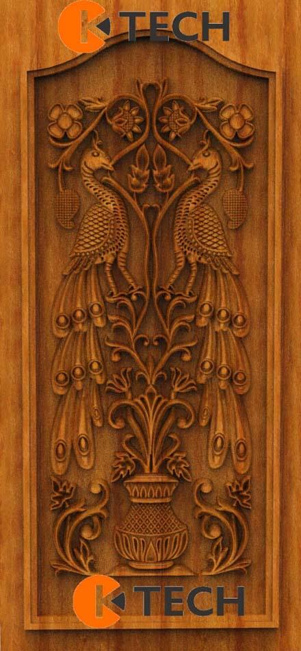 K-TECH CNC Oak Door Design 04