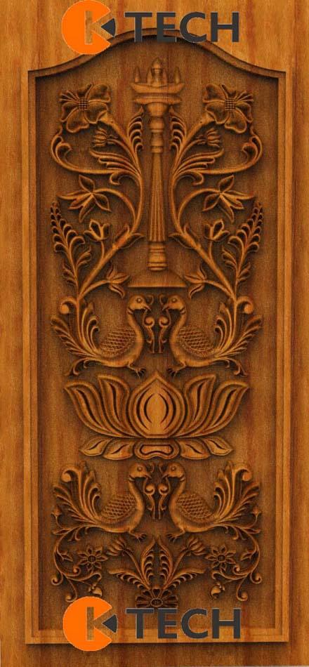 K-TECH CNC Oak Door Design 07