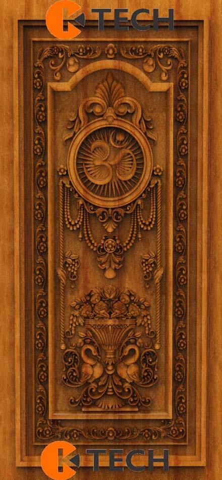 K-TECH CNC Oak Door Design 17