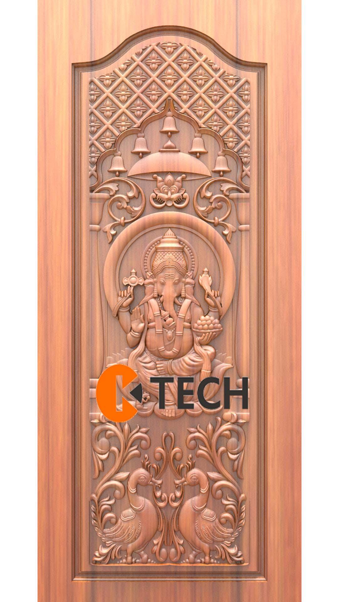 K-TECH CNC Doors Design 78