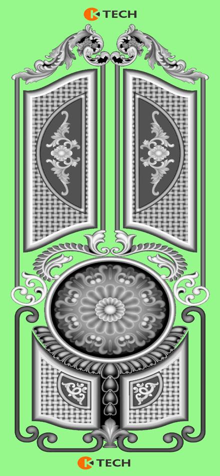 K-TECH CNC Mixing Doors Design 50