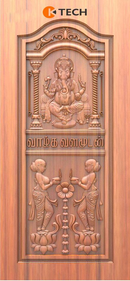 K-TECH CNC Doors Design 143