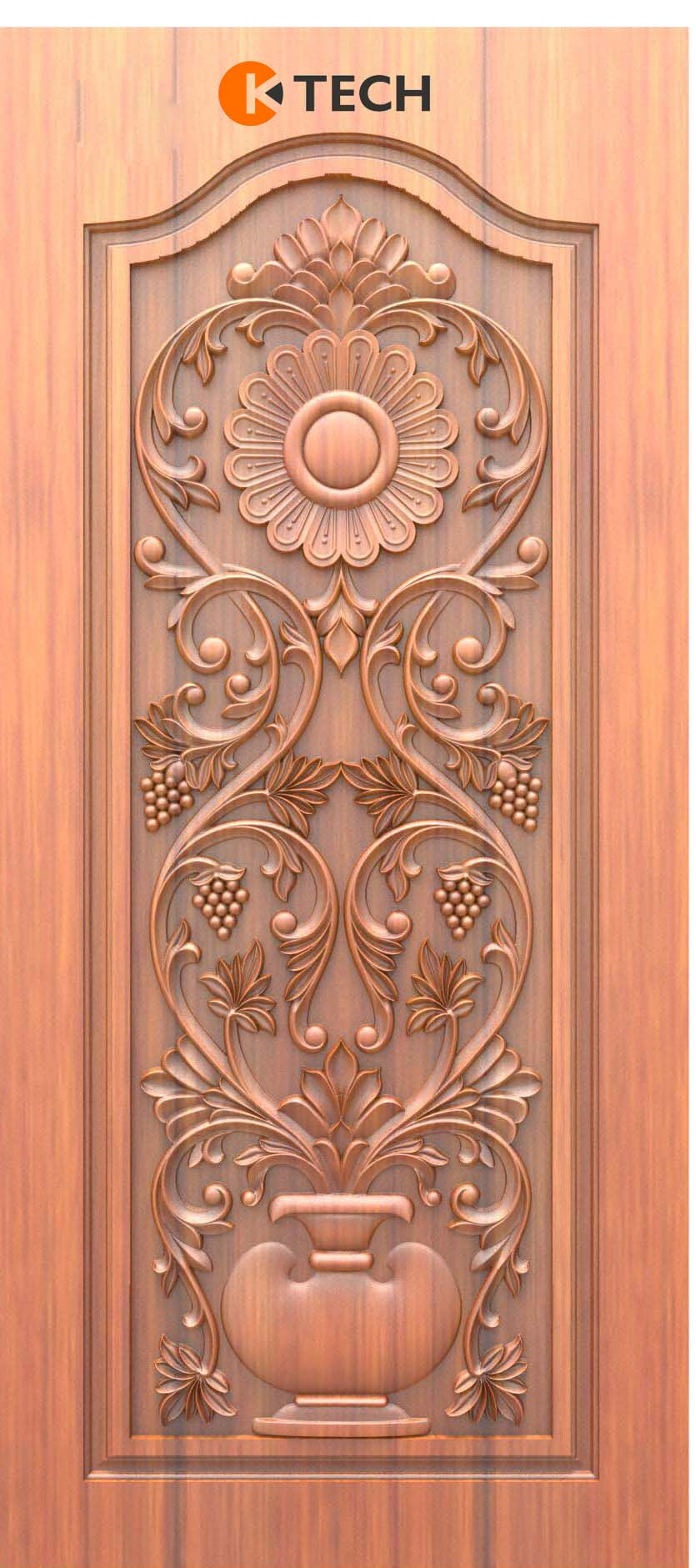 K-TECH CNC Doors Design 174