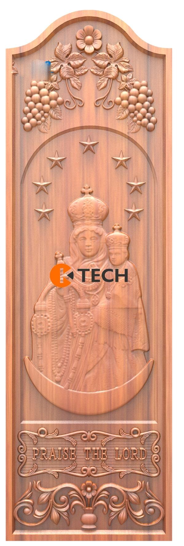 K-TECH CNC Doors Design 188