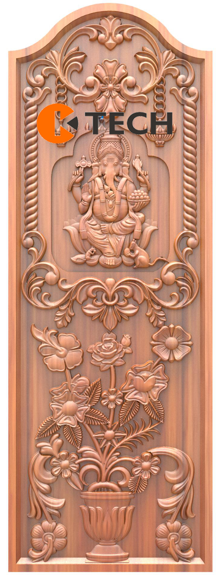 K-TECH CNC Doors Design 190