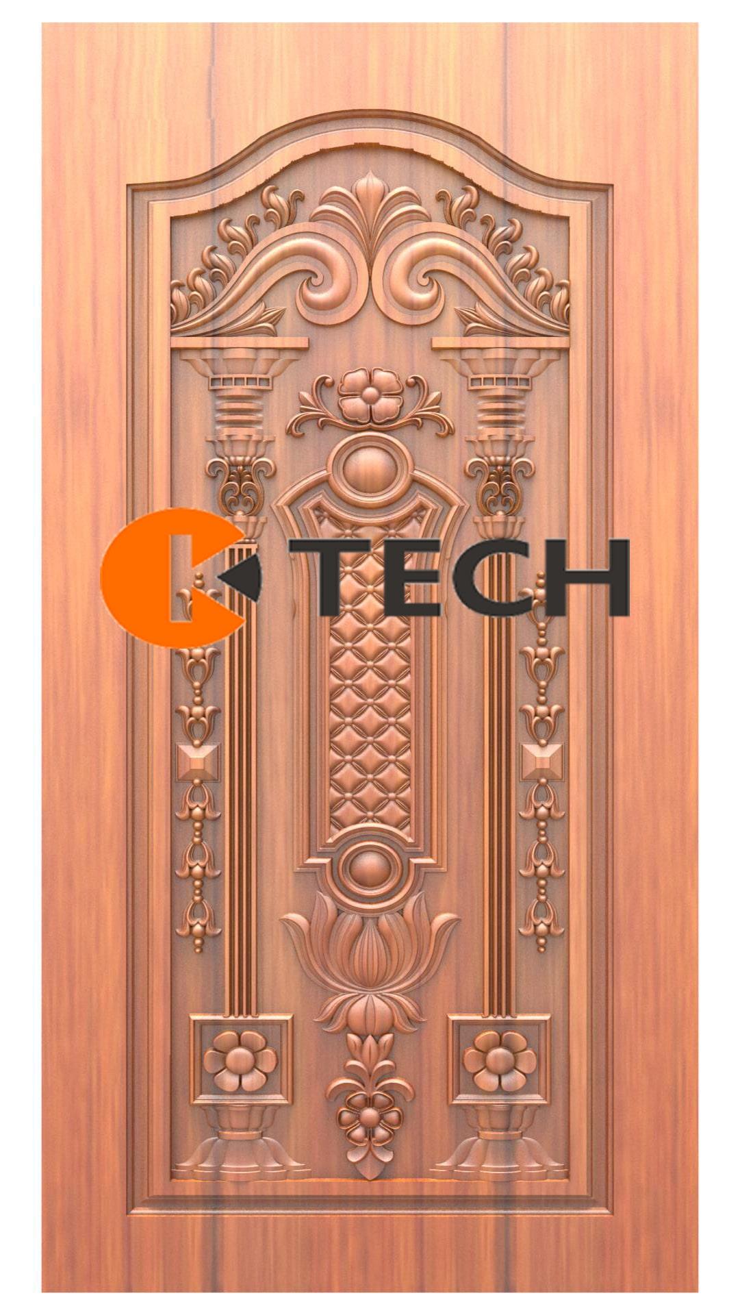 K-TECH CNC Doors Design 205