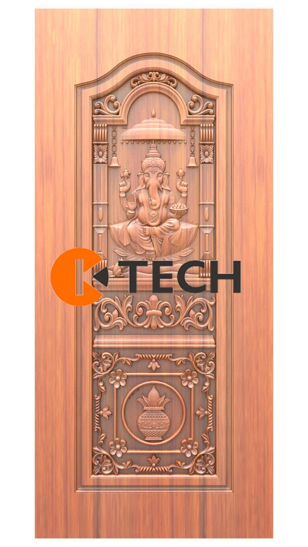K-TECH CNC Doors Design 213