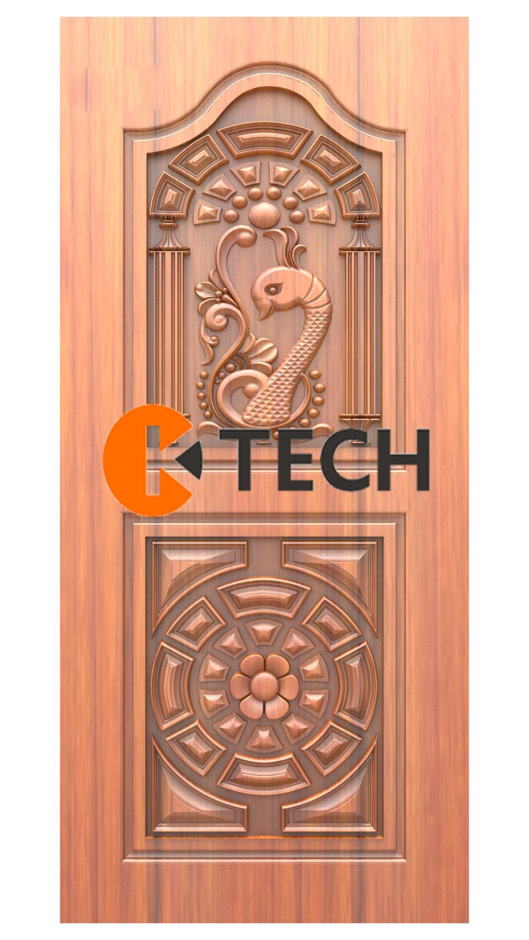 K-TECH CNC Doors Design 216