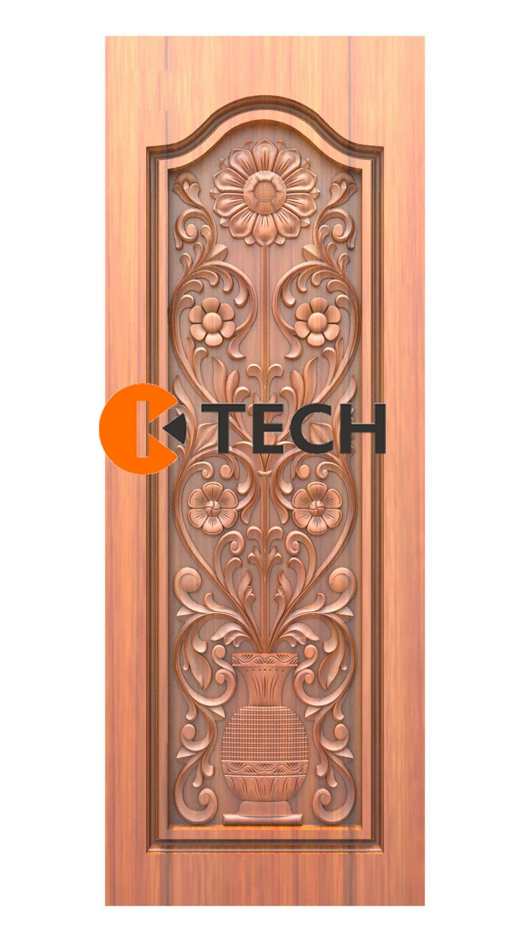 K-TECH CNC Doors Design 222