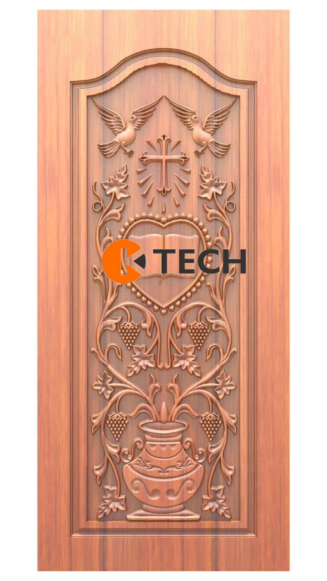 K-TECH CNC Doors Design 228