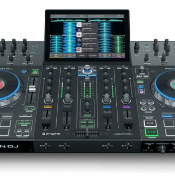 Denon has announced the brand-new Prime 4, a powerful, four-deck DJ performance system