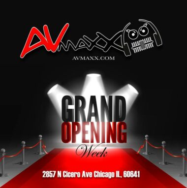 AV MAXX has a new bigger and better location and their