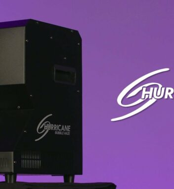Chauvet Dj announces the Hurricane Bubble Haze Machine