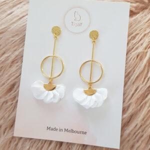 Poppy Earring – White