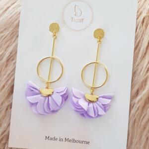 Poppy Earring – Lavender