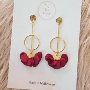 Poppy Earring – Red
