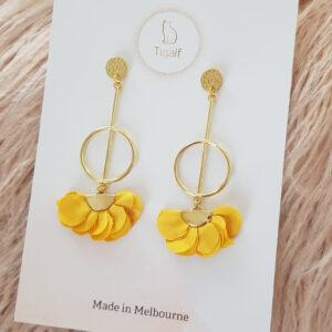 Poppy Earring – Mustard