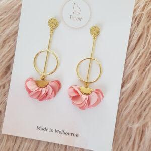 Poppy Earring – Pastel Pink