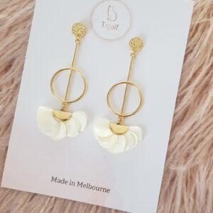 Poppy Earring – Ivory