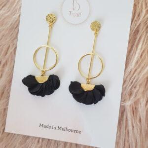 Poppy Earring – Black