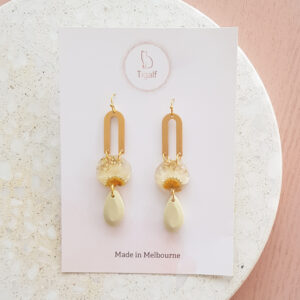 Flowerly -Drop Earrings
