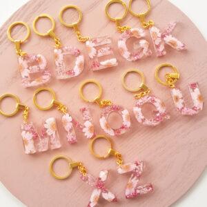 Flowerly Keychain – Pink