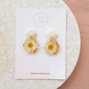 Flowerly Earring – Hexagon