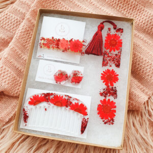 Flowerly Gift Set – Red