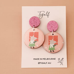 Mouse Earring